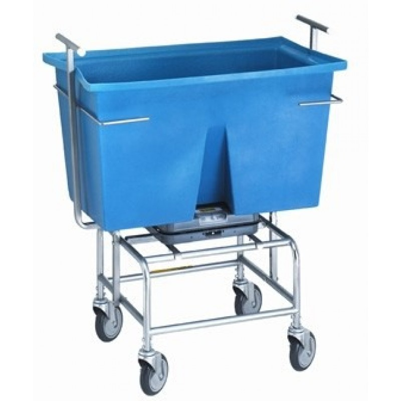 Mobile Scale with Poly Tub, 249 lb
