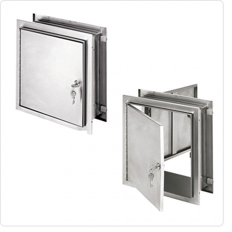 Pass-Thru Cabinets  - With Thumb Latch