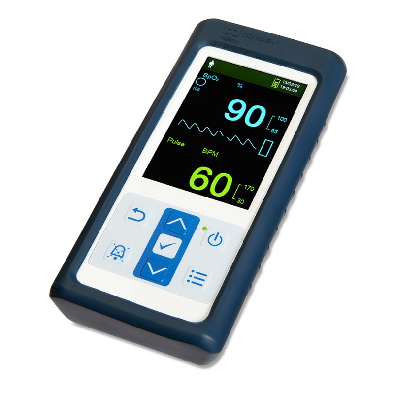 Nellcor Portable SpO2 Patient Monitoring System includes Adult and  Pediatric Sensors