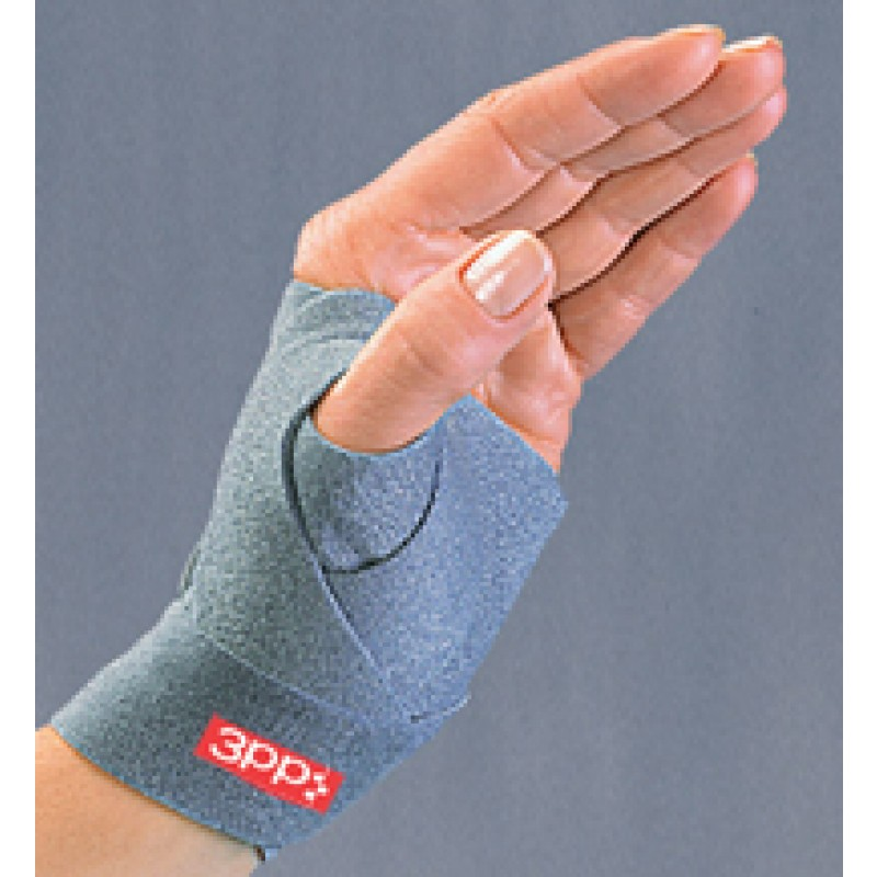 "3pp Grey ThumSling, Right Hand Small/Medium - 6"" to 7 1/4"""