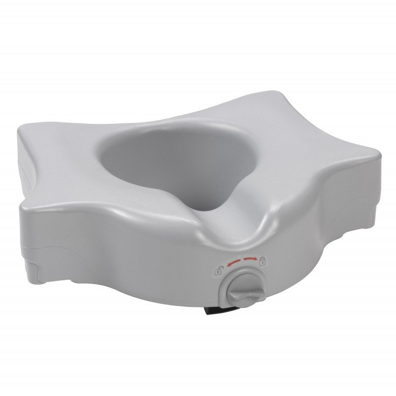 Astounding Heavy Duty Locking Raised Toilet Seat 5 Short Links Chair Design For Home Short Linksinfo