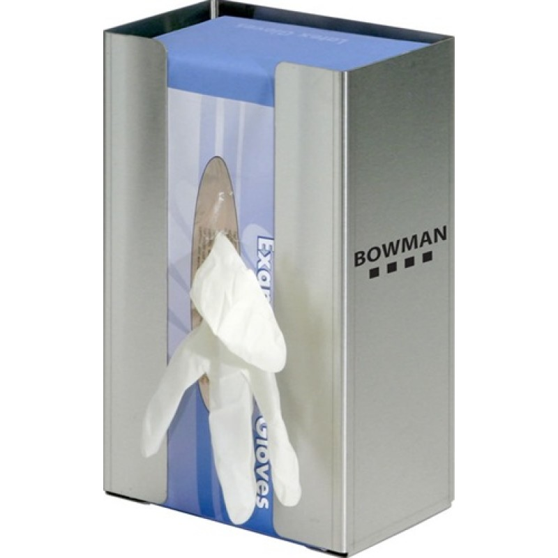 Glove Box Dispenser - Single - Large Capacity with Flexible Spring