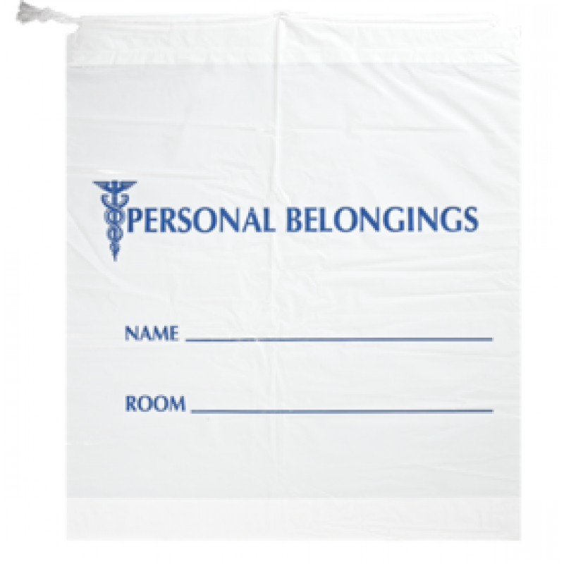 Patient  Personal Belonging Bags 18x18.5+6 bottomgusset