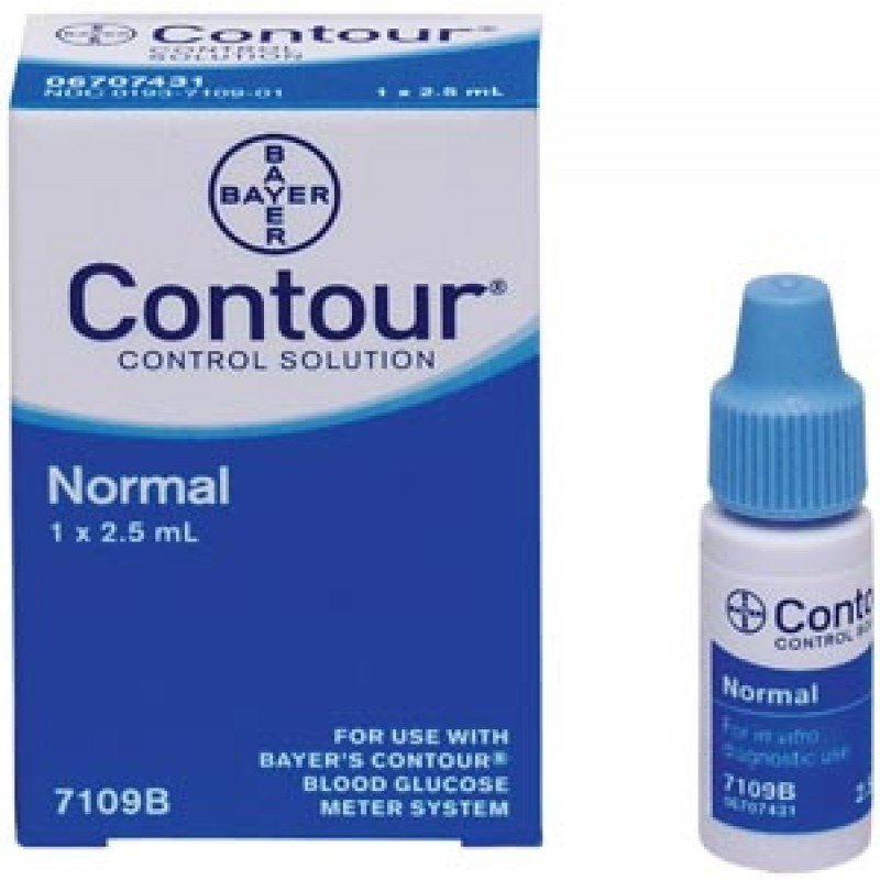 Contour Control Solution Normal 2.5mL Vial