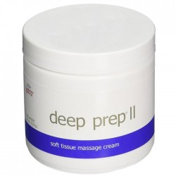 Deep Prep II Tissue Massage Cream 15 oz. Jar