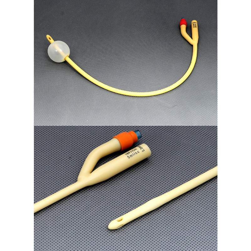 AMSure Two-Way Silicone Coated Latex Foley Catheters