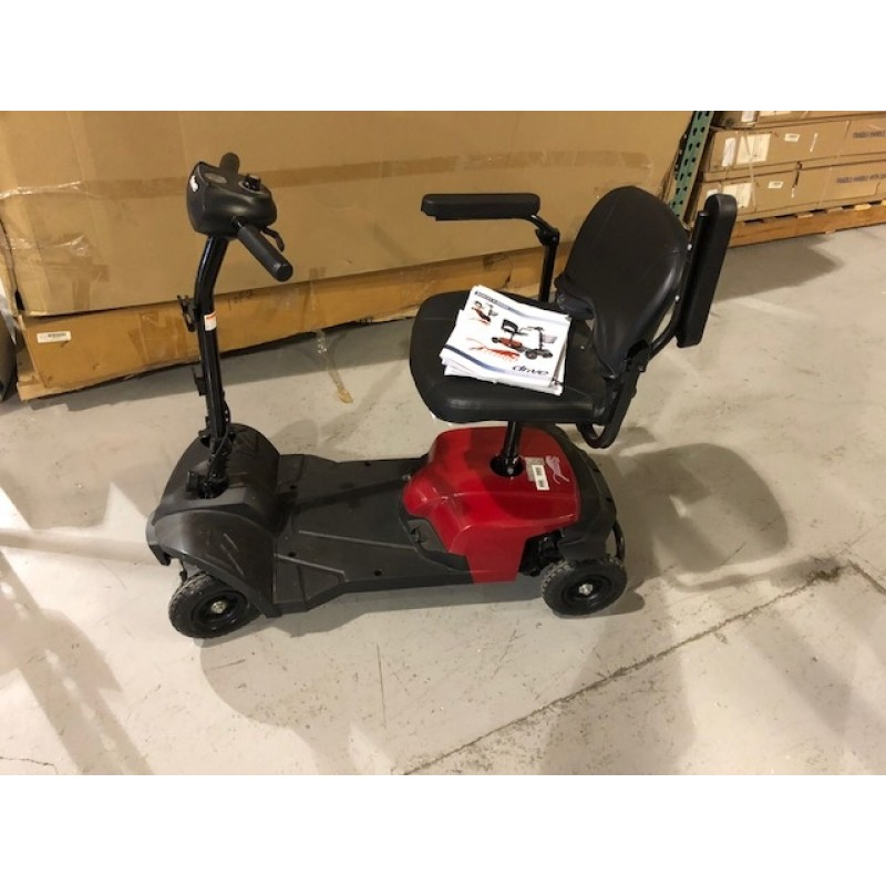 Bobcat X4 4 Wheel Compact Transportable Scooter Red - Open Box Special