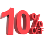 10% off any order over $750